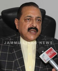 Dr Jitendra reviews progress of works through Vid...