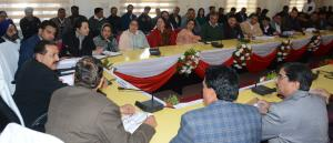 Dr Jitendra Singh reviews progress on all central...