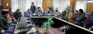 Dr Shahid Iqbal convene introductory meeting with...