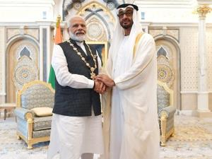 UAE honours PM Modi with highest civilian award