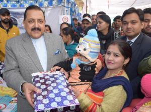 Dr Jitendra Singh conducts public outreach progra...