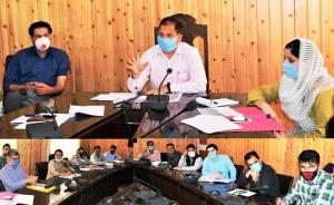 DDC Ganderbal reviews performance of RDD