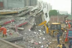 Three dead as buildings collapse in Greater Noida...
