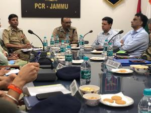 J&K DGP reviews security situation in Jammu region