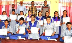 DIC Ramban organises debate, painting Competition