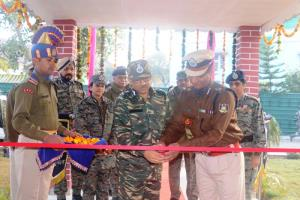 DG CRPF inaugurates officers' mess in 160 Bn
