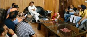 JKPSCC deputation calls on Zulfkar