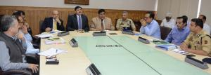 Advisors, Chief Secretary, DGP interact with Dist...