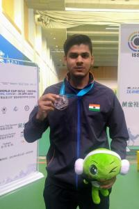 With silver, Divyansh secures India