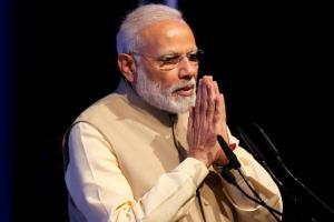 PM Modi pays tributes to Indira Gandhi on her bir...