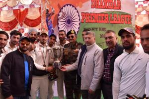 Kishtwar Warriors wins Dhanidar Premier Cricket L...
