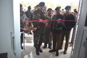 GOC 14 Corps inaugurates MRI Centre at 153 Genera...
