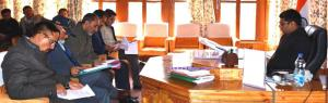 DC Kargil chairs DLC meet on PMAY-G