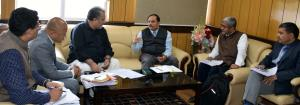 Advisor Bhatnagar takes stock of Road Safety meas...