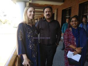 Director Tourism interacts with US Embassy Vice C...
