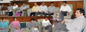 Advisor Vyas reviews status of mega projects in J...