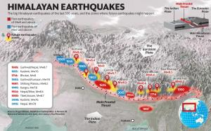 Himalayas poised for a series of big earthquakes,...