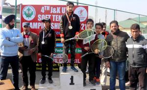 4th J&K Soft Tennis Championship held