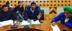 General Elections 2019: DEO Kupwara reviews assur...