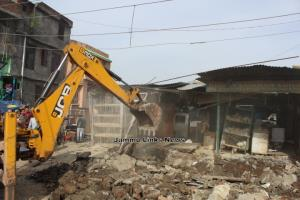 73 Structures removed in Anti-Encroachment drive ...
