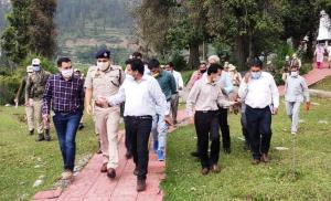 DDC Udhampur inspects progress on dev projects in...