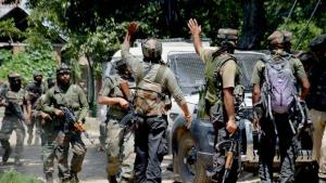 Two over-ground workers of Hizbul Mujahideen arre...
