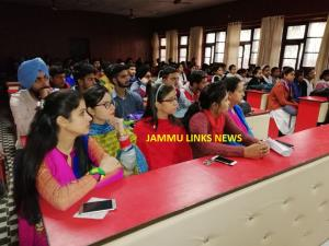 Cluster University Jammu organises awareness prog...