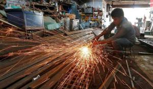 India manufacturing activity growth drops to 2-ye...