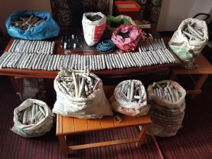 Man arrested with explosives in Pulwama
