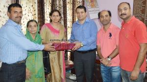 DIC Udhampur bids farewell to outgoing DIO