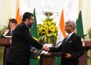 India, Brazil sign 15 MoUs in cybersecurity, bioe...
