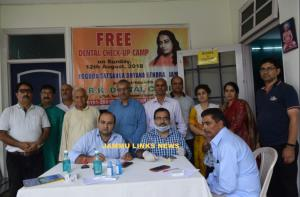 Free dental check-up camp held in Jammu