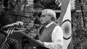 Atal Bihari Vajpayee an 'outstanding Indian state...