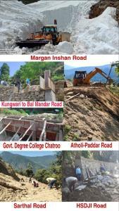 District administration Kishtwar resumes work on ...