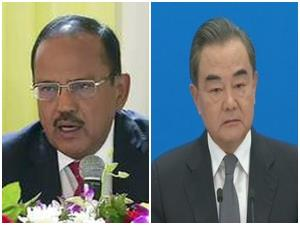 NSA Doval holds talks with Chinese Foreign Minist...