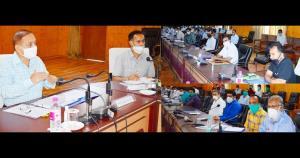 Kotwal takes stock of various revenue matters