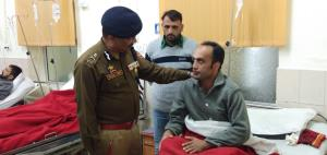 DGP visits 92 Base Hospital, enquires about healt...