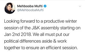 Must put political differences aside: Mehbooba Mu...