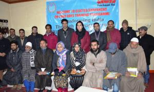 DC Budgam administers oath to Sarpanchs, Panchs