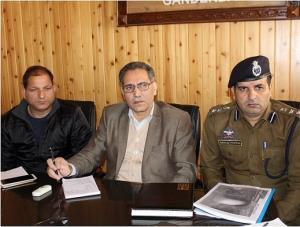 DDC Ganderbal reviews Amarnath Yatra arrangements