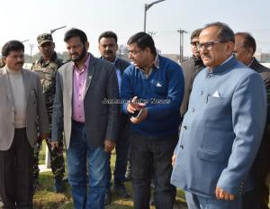 Dy CM inspects Maharaja Hari Singh park