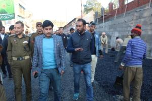 DDC inspects ongoing up-gradation work on Gujjar ...
