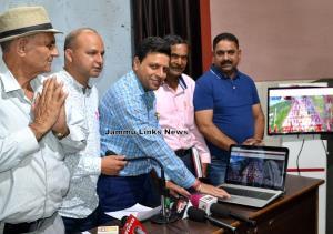 Div Com Jammu launches Shri Chandi Mata Ji Machai...