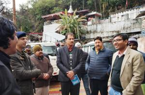 DDC Poonch visits Shiv Khori, reviews arrangement...