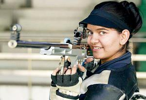 Anjum wins silver at shooting World Cup