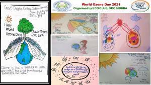 GDC Sidhra celebrates 'World Ozone Day 2021
