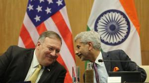 Jaishankar, Pompeo exchange views on bilateral ti...