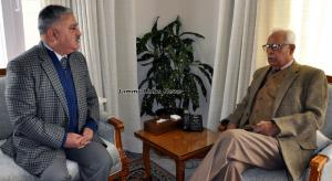 VC, Central University of Jammu calls on Governor