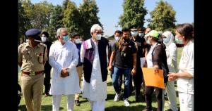 Lt Governor tours Anantnag, reviews developmental...