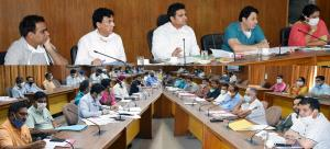 DDC Udhampur reviews functioning of RDD